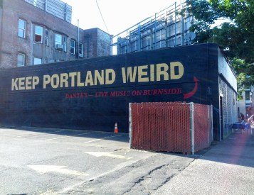 How can you not love Portland with a sign like this one?