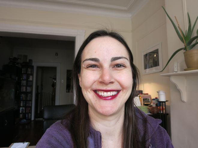 Buxom Mini Full Bodied Lipstick in Menace