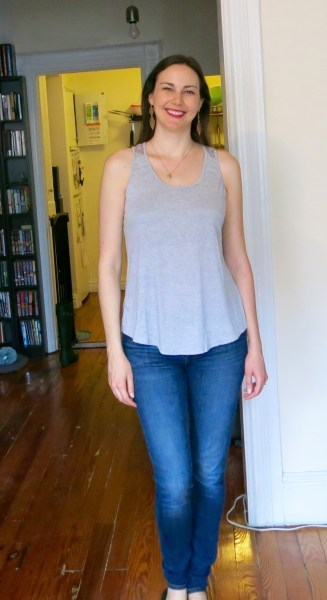 Market & Spruce Jillian Crochet Detail Tank - Stitch Fix