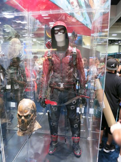 Colton Haynes' Arsenal costume + Brother Blood mask from Arrow.