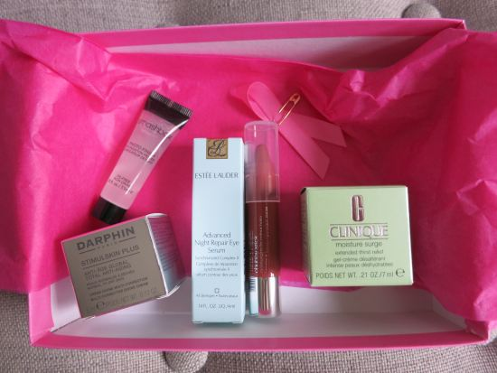 October 2015 Birchbox samples
