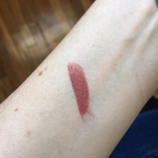 tarte Rainforest of the Sea Drench Lip Splash Lipstick in Beach Bum swatch