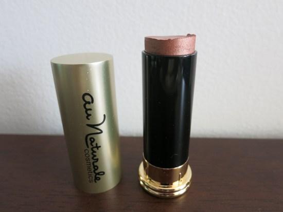 Au Naturale Cosmetics Organic Creme Highlighter Stick - Rose Gold