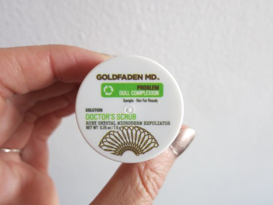 Goldfaden MD Doctor's Scrub - Birchbox