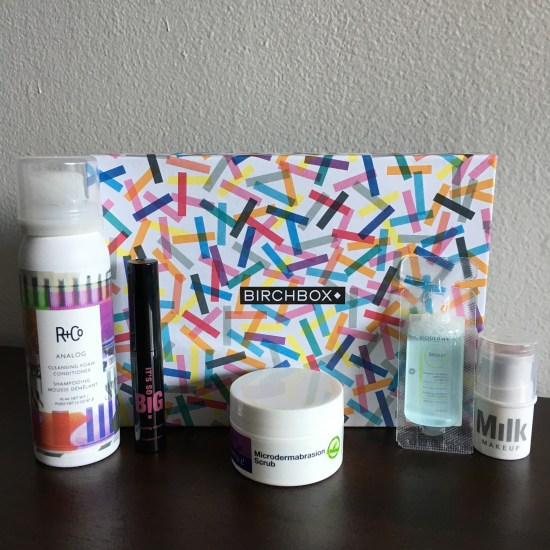 September 2016 Birchbox Samples