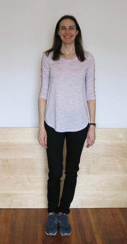 Papermoon Kaufman Crochet Detail Knit Top & Just Black Cordelia Skinny Jean | Stitch Fix