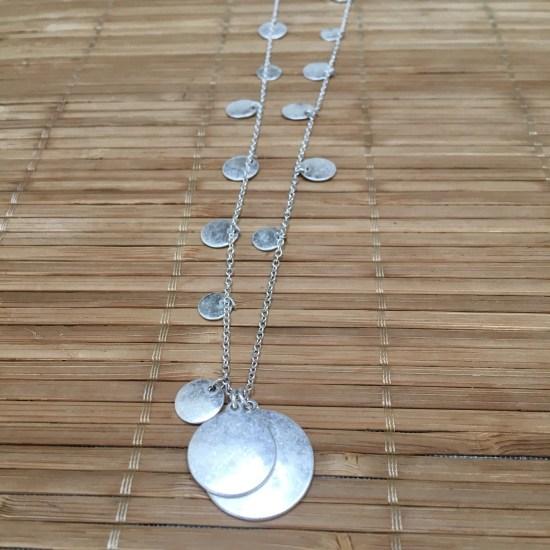 Marlyn Schiff Newman Circle Charm Layering Necklace | Stitch Fix