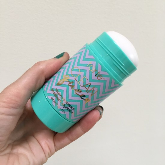 tarte cosmetics clean queen vegan deodorant