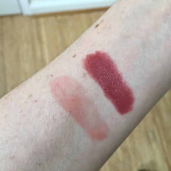 tarte lipstick swatches