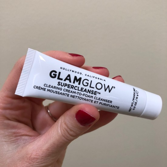 GlamGlow Supercleanse Clearing Cream-to-Foam Cleanser | Play! by Sephora
