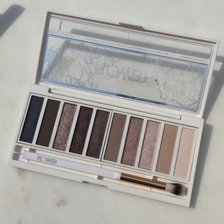 Flower Beauty Shimmer & Shade Eyeshadow Palette in Cool Natural