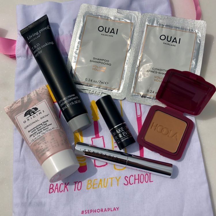 August 2018 Play! by Sephora samples