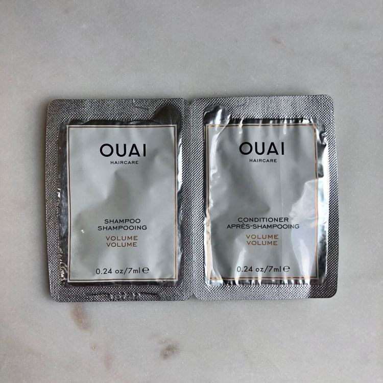 Ouai Volume Shampoo and Conditioner samples | Play! by Sephora