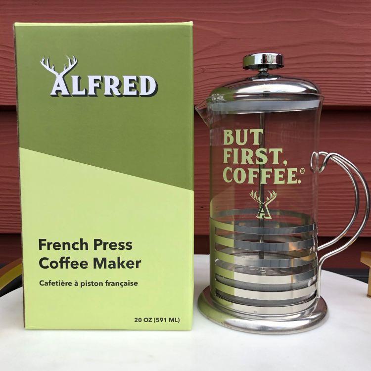 Alfred French Press | FabFitFun Fall 2018