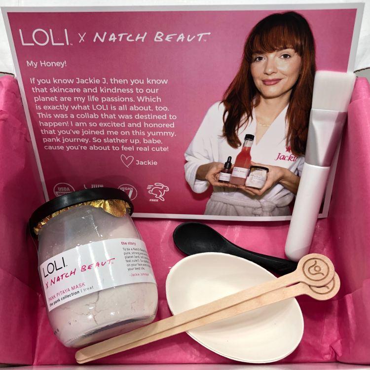 Loli x Natch Beaut Pank Pitaya Mask
