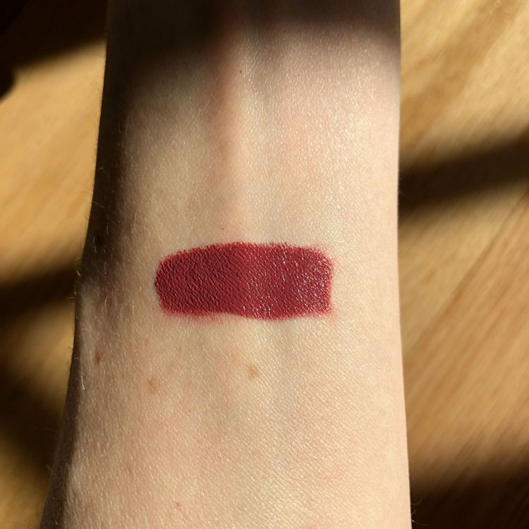Bite Beauty Lipstick Swatch - Rhubarb