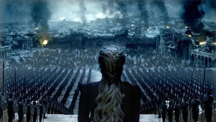 Daenerys in the Game of Thrones series finale