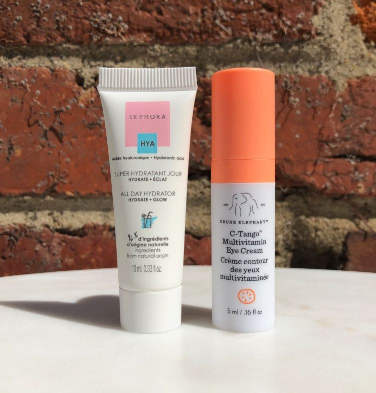 Sephora Collection All Day Hydrator & Drunk Elephant C-Tango Multivitamin Eye Cream