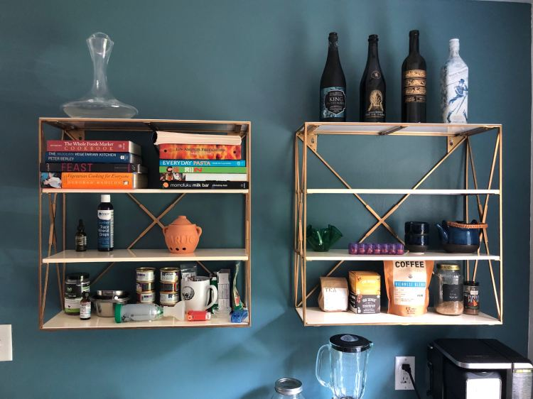 CB2 Shelves