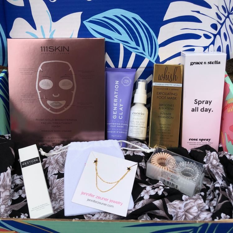 FabFitFun Summer 2019 products