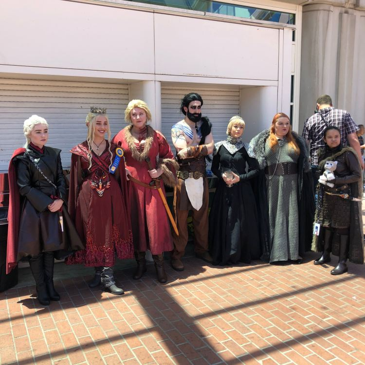 Game of Thrones cosplayers