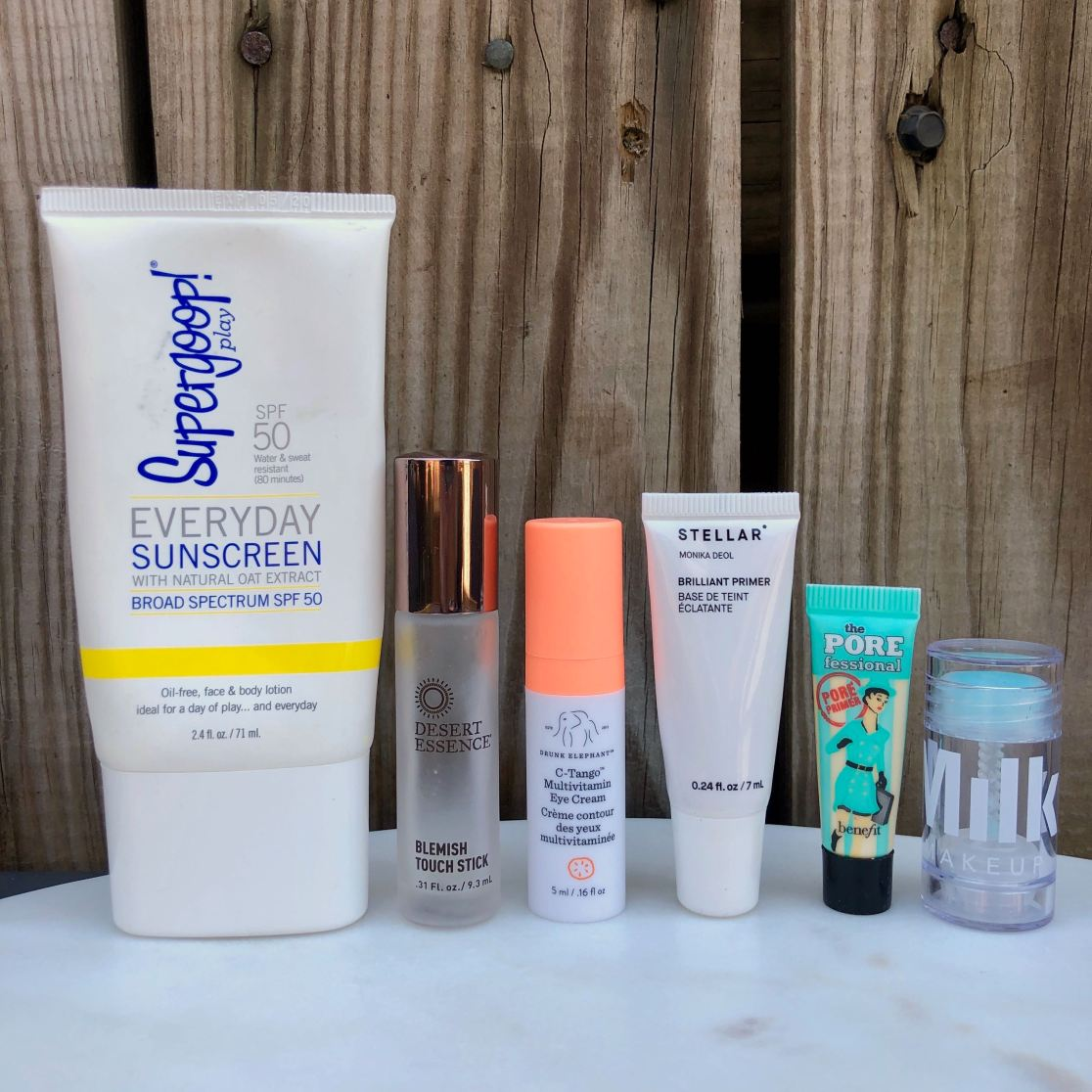 August beauty empties