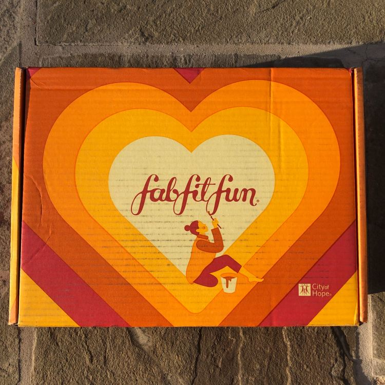 FabFitFun Autumn 2019 Box Design