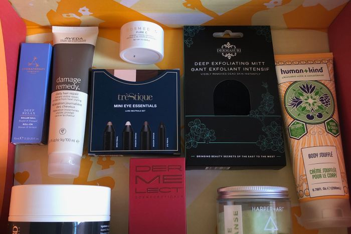 Autumn 2019 FabFitFun Products