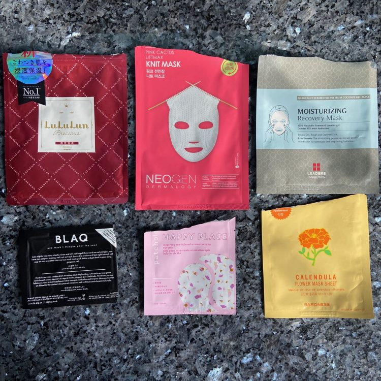 January mask empties