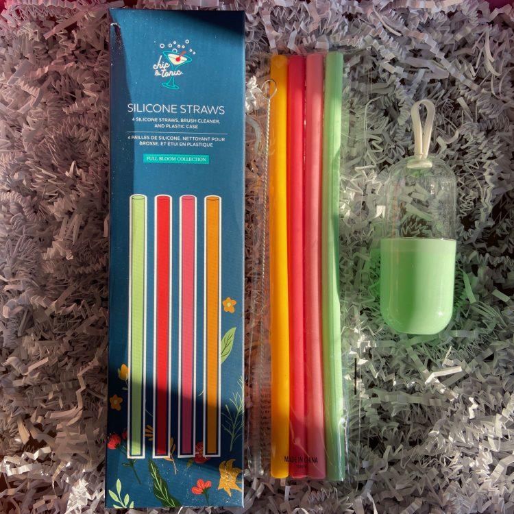 Chic & Tonic Silicone Straws