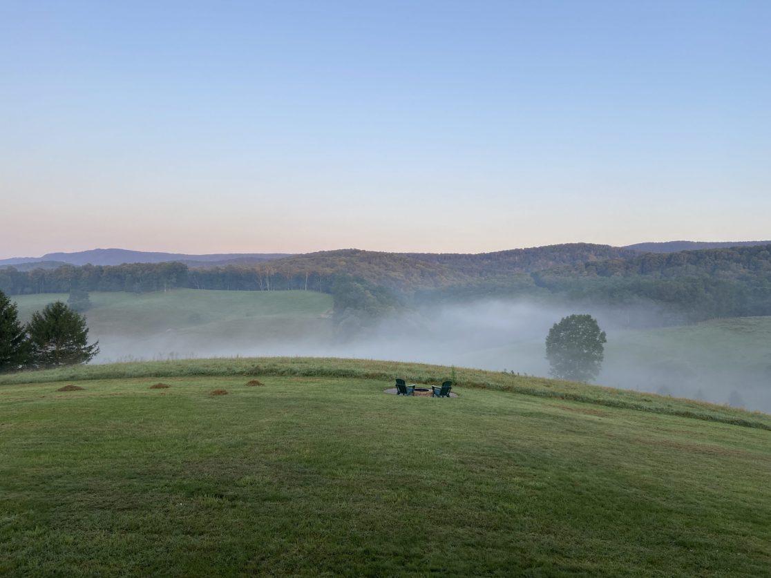 Tuesday morning mist