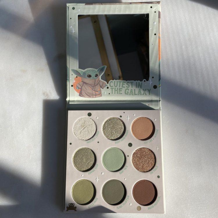 Colourpop Baby Yoda palette