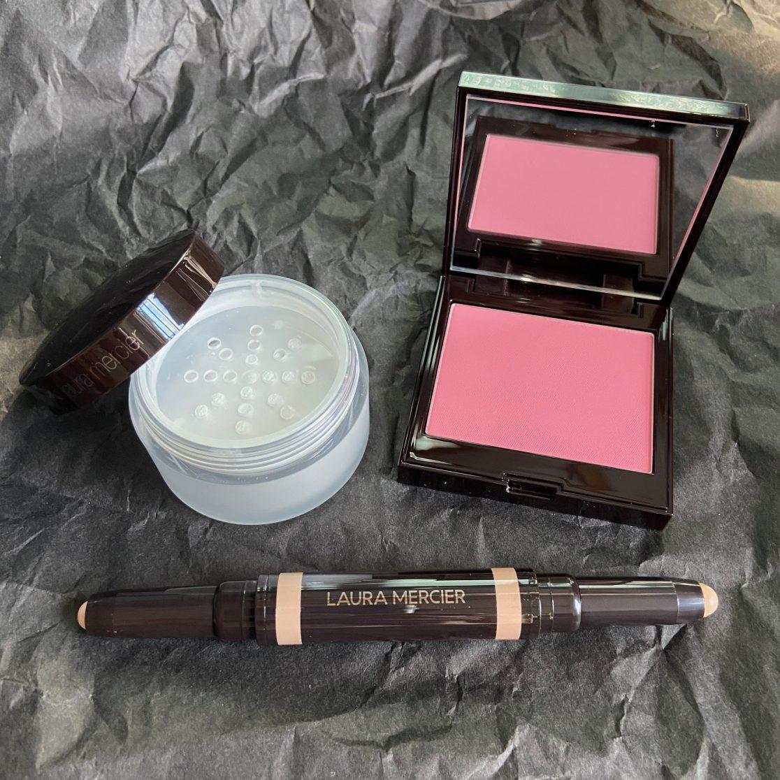 Brightening Powder, Blush, Concealer Duo
