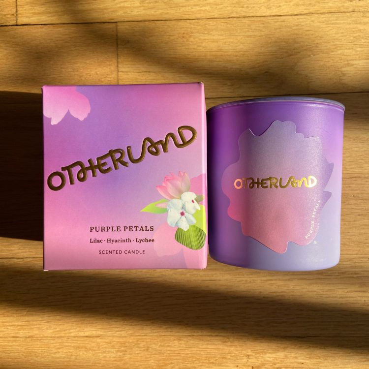 Otherland Purple Petals Candle