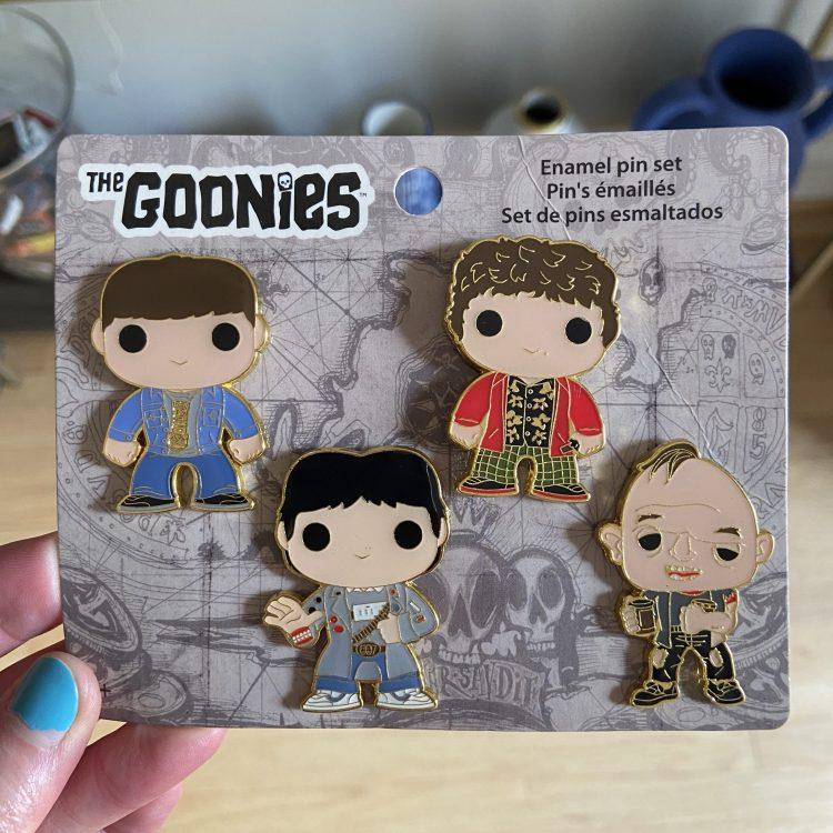 Goonies Funko Pop pin set