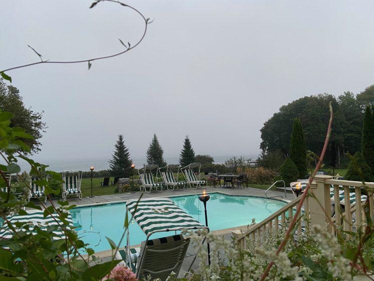 Veranda fog view