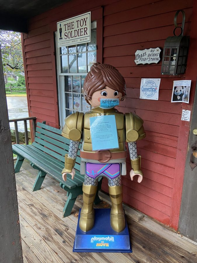 The Toy Soldier in Olde Mystick Village