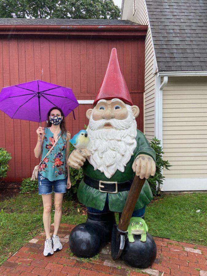 Gnome outside Bestemors