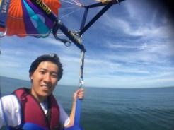 Selfie While Flying