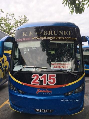 The KK-Brunei Bus