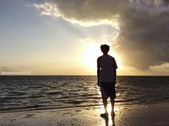 Sunrise at Bulabog Beach, 2015