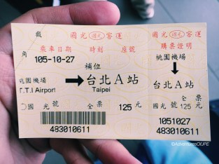 Airport Bus Ticket
