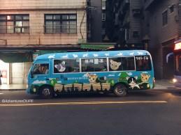 Minibus to Houtong Cat Village