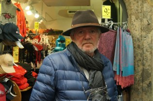 Dad with an Austria hat. Stylish ;-)