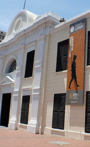 The Slave Lodge in Cape Town, South Africa