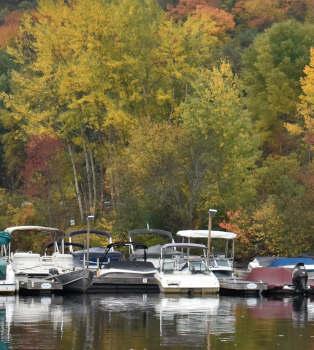 Fall Colors in  Huntsville, Ontario