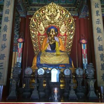 Buddha in Lama Temple