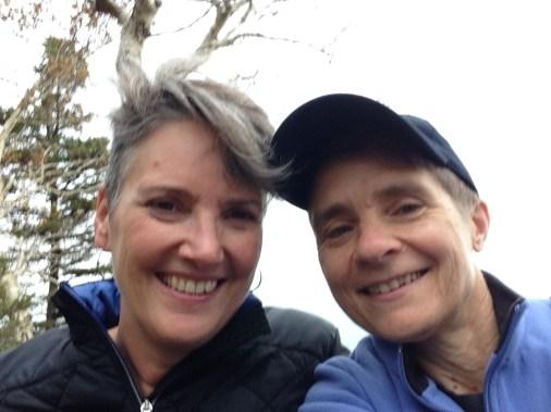 AM & CT hiking break