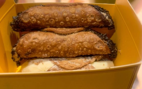 Try one of the different Cannolis they have.