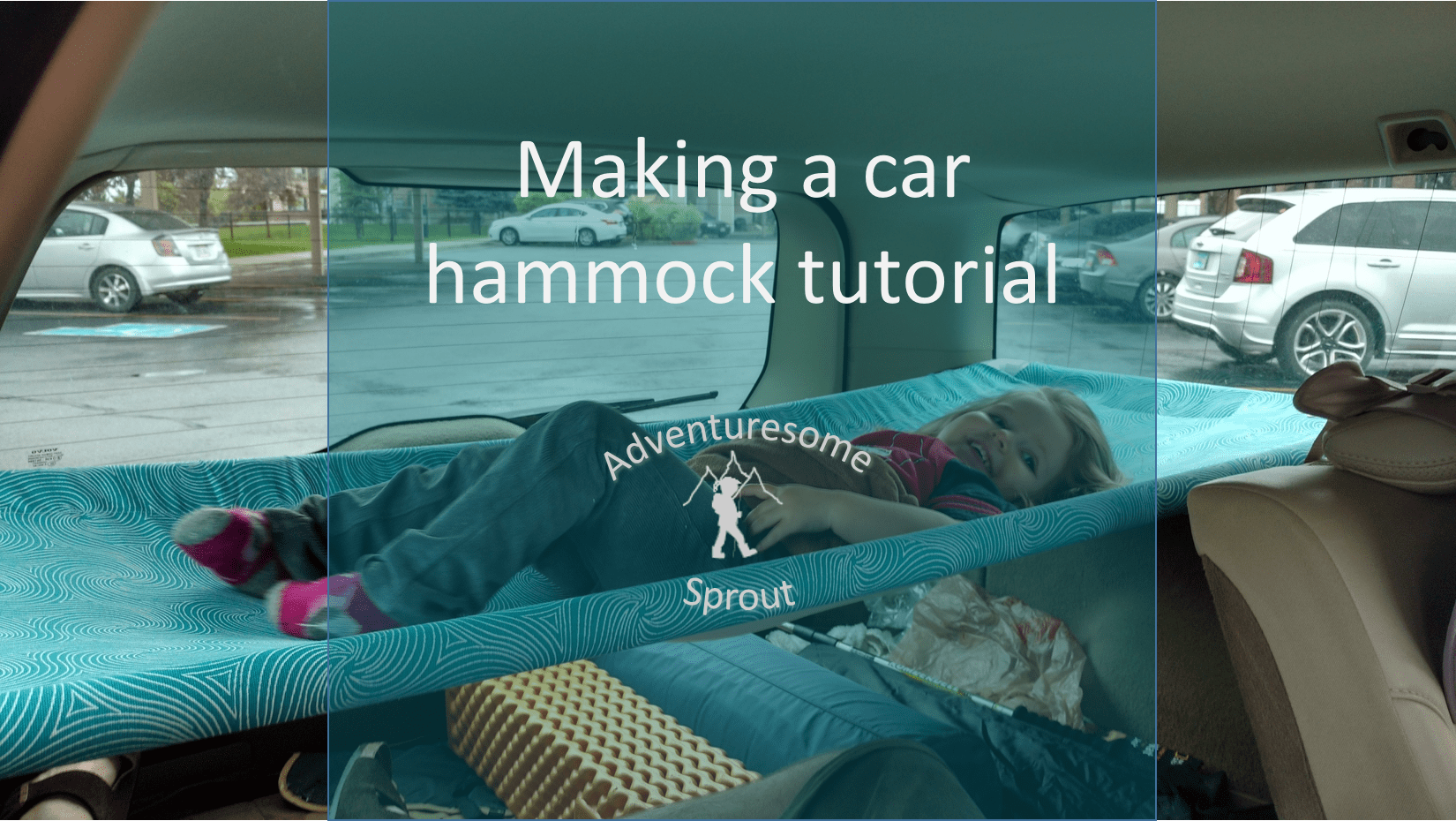 Tutorial Hammock Bed For Car Camping In A Volvo Wagon